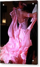 Floating On A Pink Cloud Acrylic Print by Kate Purdy