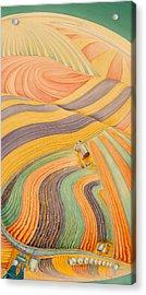 Floating Over Fields IIi Acrylic Print by Scott Kirby
