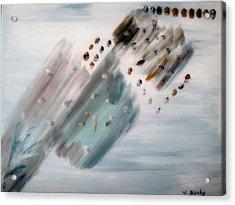 Flock Acrylic Print by Bamhs Blair