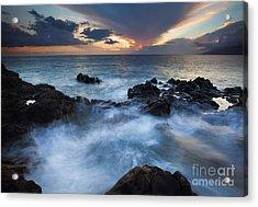 Flooded Acrylic Print by Mike  Dawson