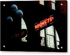 Flophouse Acrylic Print by Benjamin Yeager