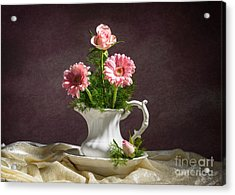 Aster Acrylic Print featuring the photograph Floral Arrangement by Amanda And Christopher Elwell