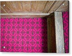 Floral Carpet Acrylic Print by Tom Gowanlock
