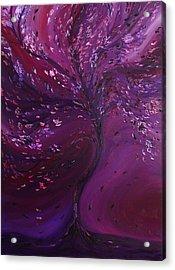 Floral Night Acrylic Print by Felix Concepcion