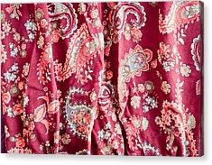 Floral Pattern Acrylic Print by Tom Gowanlock