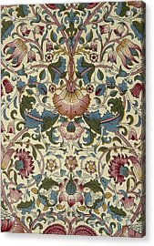 Floral Pattern Acrylic Print by William Morris