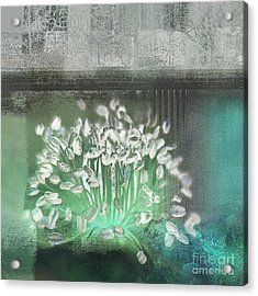 Floralart - 03 Acrylic Print by Variance Collections