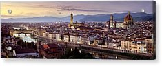 Florence Acrylic Print by Rod McLean