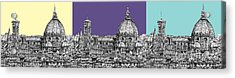 Florence's Duomo In Pastels Acrylic Print by Adendorff Design