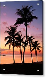 Florida Breeze Acrylic Print by Chad Dutson