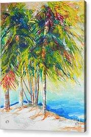 Florida Inspiration  Acrylic Print by Chrisann Ellis