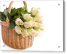 Flower Baskets Acrylic Print by Boon Mee