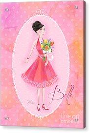 Flower Ladies-belle Acrylic Print by Shari Warren