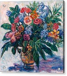 Flower Life Acrylic Print by Kendall Kessler