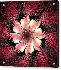 Flower Scent Acrylic Print by Anastasiya Malakhova