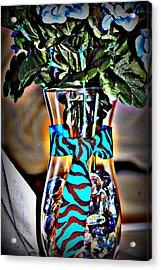 Flower Tie Acrylic Print by Joyce Brooks