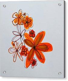 Flowers IIII Acrylic Print by Patricia Awapara