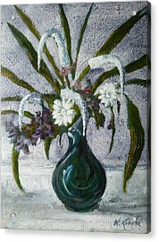 Flowers Acrylic Print by Witold Kubicha