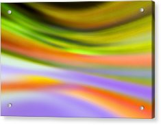 Flowing With Life 20 Acrylic Print by Angelina Vick