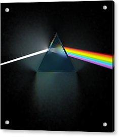 Floyd In 3d Simulation Acrylic Print by Meir Ezrachi