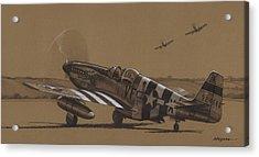 Flying Dutchman Acrylic Print by Wade Meyers