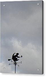 Flying Witch - Piazza Palio - Khaoyai Thailand - 01131 Acrylic Print by DC Photographer