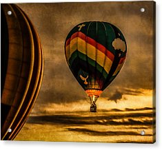 Following Amazing Grace Acrylic Print by Bob Orsillo