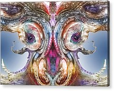 Fomorii Incubator Remix Acrylic Print by Otto Rapp