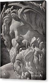 Fontana Dei Quattro Fiumi - River Ganges Acrylic Print by Rod McLean