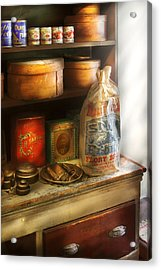 Food - Kitchen Ingredients Acrylic Print by Mike Savad