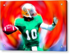 Football Expressions Acrylic Print by Stefan Kuhn
