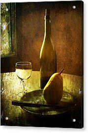For One Acrylic Print by Julie Palencia