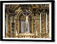For Our Sins Acrylic Print by Shoal Hollingsworth
