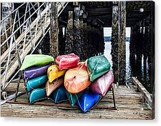 For Rent Acrylic Print by Jeff Swanson