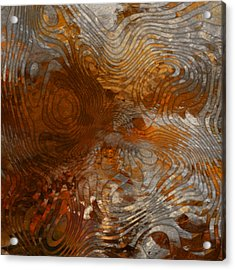 For The Love Of Rust Acrylic Print by Jack Zulli