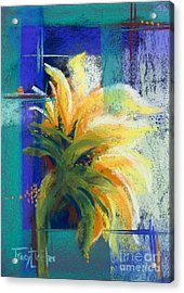 For Those Who Wait Acrylic Print by Tracy L Teeter