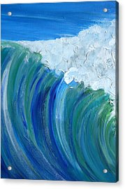 Force Of Nature Acrylic Print by Pete Maier