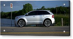 Ford Edge Sport Acrylic Print by Rob Andrus