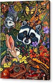 Forest Fantasy Acrylic Print by Sherry Dole