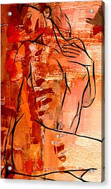 Forever In Love Acrylic Print by Stefan Kuhn