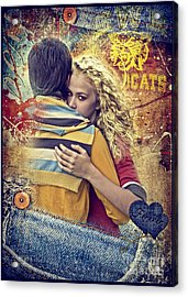 Forever Acrylic Print by Mo T