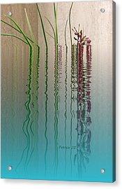 Forgive Reality Acrylic Print by Patricia Januszkiewicz