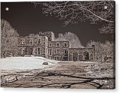 Forgotten Fort Williams Acrylic Print by Joann Vitali