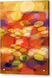 Formation Acrylic Print by Lutz Baar