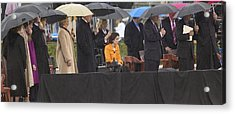 Former Us President Bill Clinton Acrylic Print by Panoramic Images