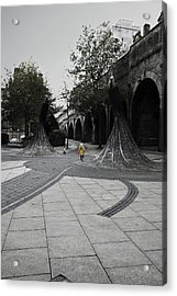 Forster Square Acrylic Print by Riley Handforth