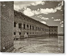 Fort Jefferson Acrylic Print by Patrick M Lynch