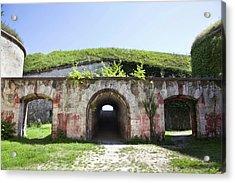 Fort Monostor In Komarom (monostori Acrylic Print by Martin Zwick
