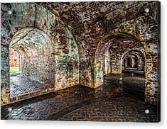 Fort Pike Acrylic Print by Andy Crawford