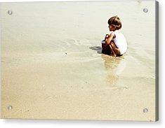 Found In The Sea Acrylic Print by Alejandra Pinango